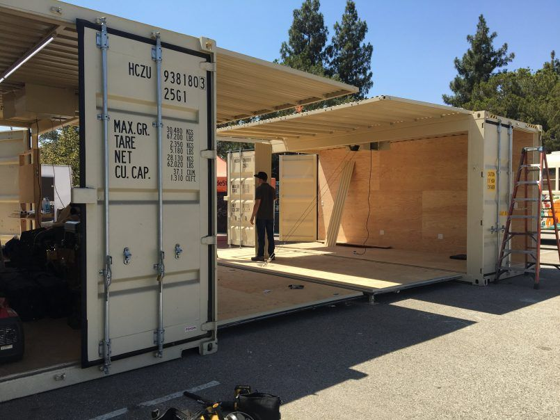 Garage Shipping Container Container Conversions Shipping Container