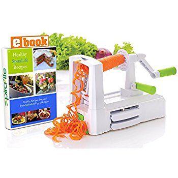 Amazon.com: SpiraLife Pro Vegetable Spiralizer, Professional ...