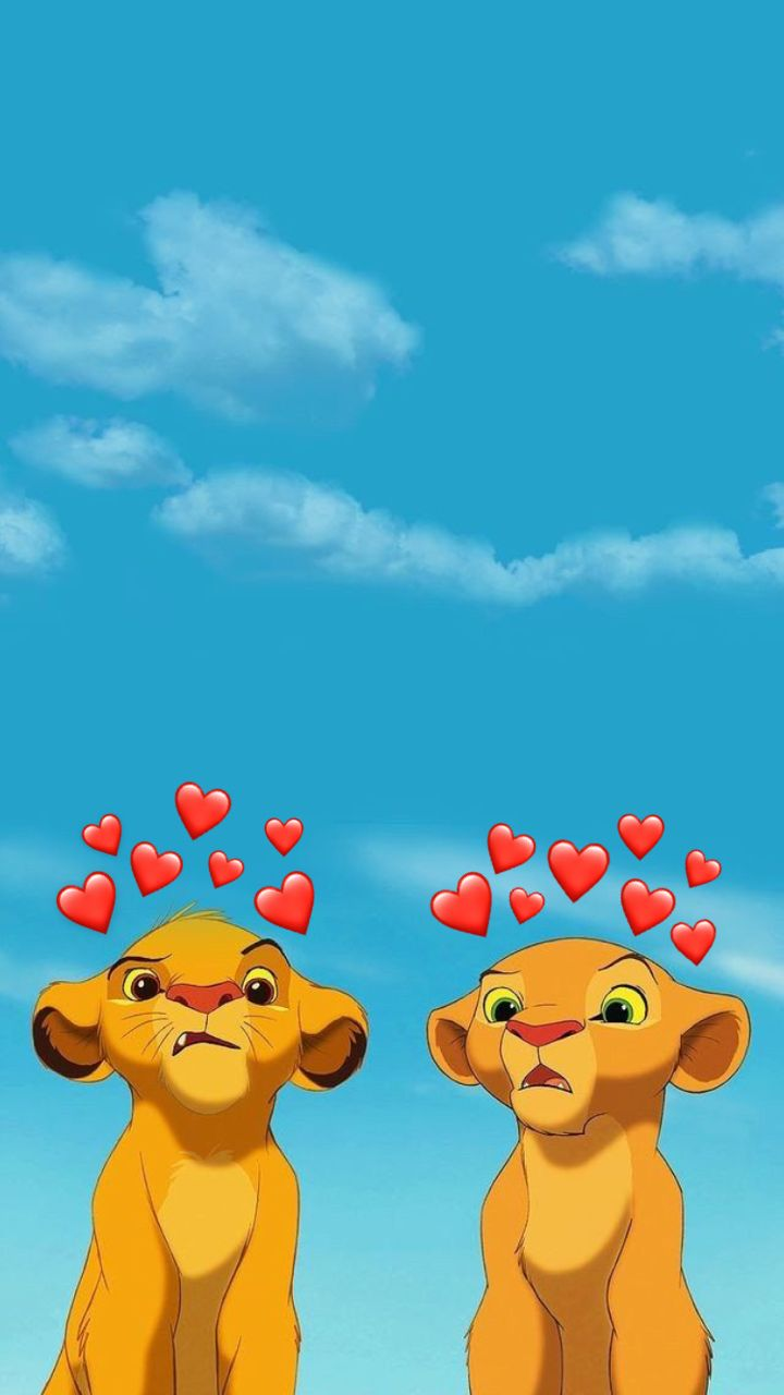 Aesthetic Lion King Disney Characters Wallpaper Wallpaper Iphone Disney Cute Emoji Wallpaper
