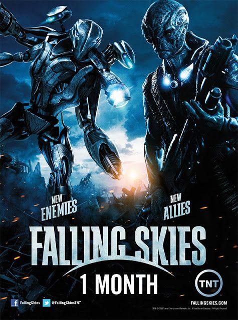 Poster promocional de la tercera temporada de Falling Skies