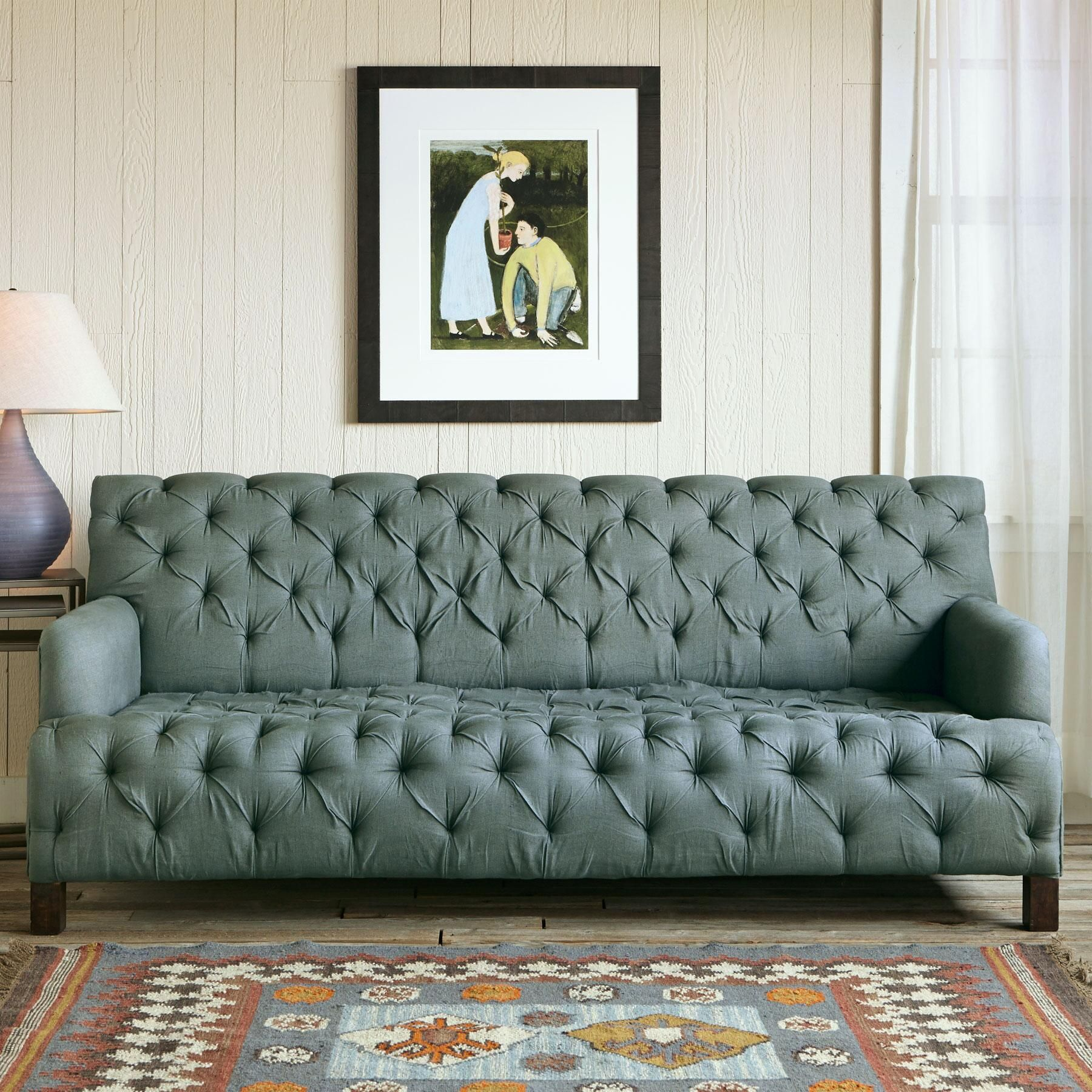 MOUNTAIN HIGH SOFA With the rugged architecture of the Sundance