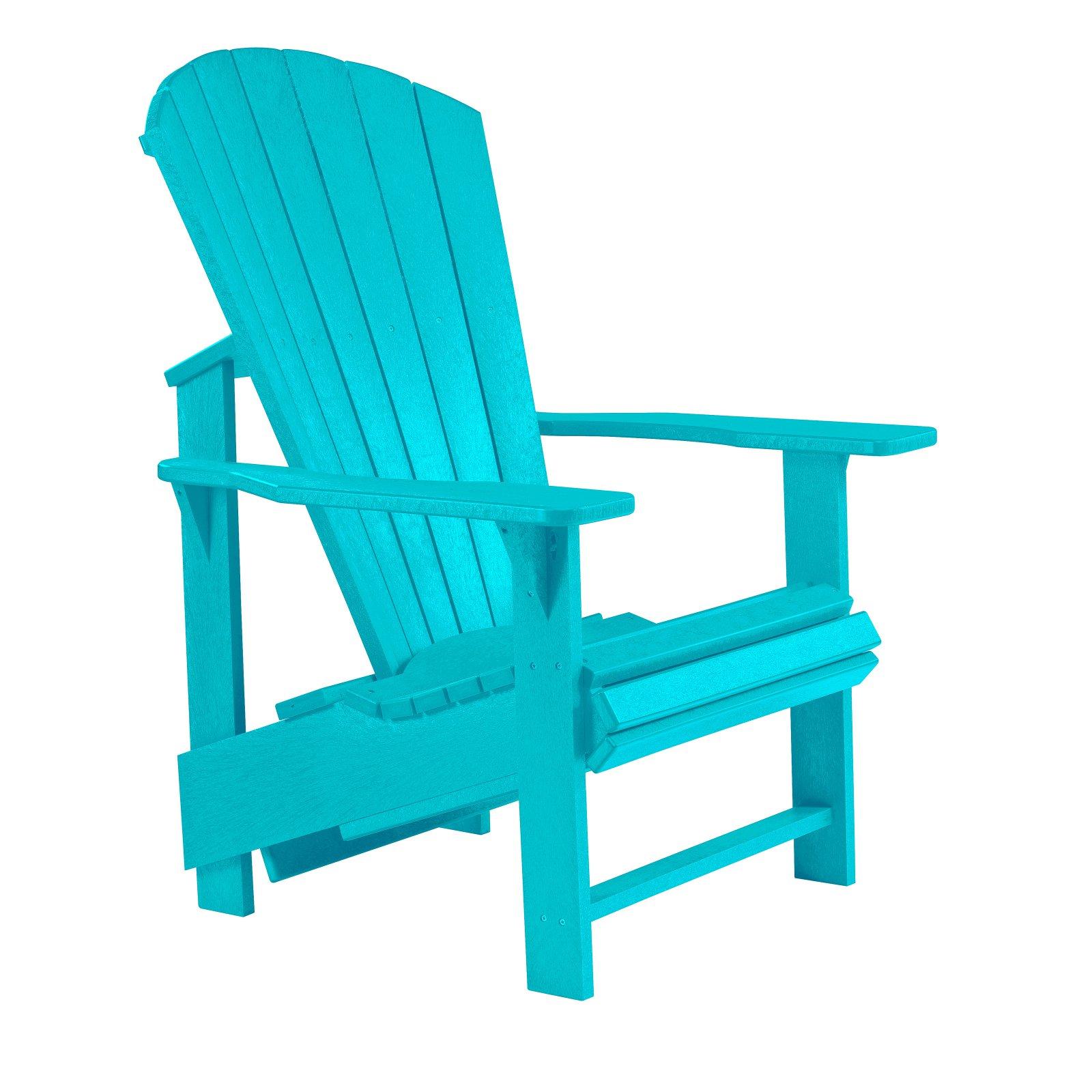 Outdoor C R Plastic Generations Upright Adirondack Chair