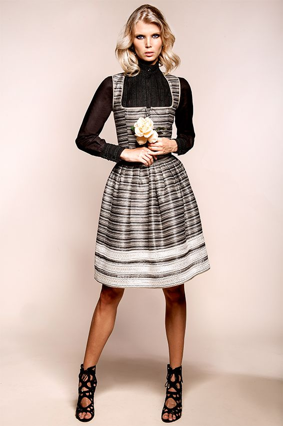 KINGA MATHE Dirndl   Trachten Couture Fall Winter 2016. Top 5 favorite  dirndl designers. ludwigs.nl 756a32a9bf