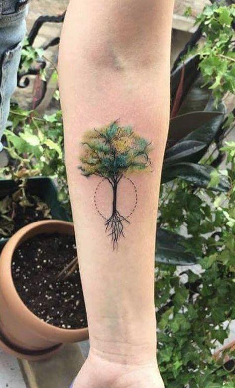 Photo of 50 tatouages d'arbres magnifiques et significatifs inspirés par le chemin de la nature – KickAss Things