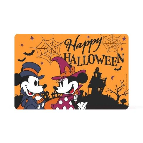17 X 11 Mickey Mouse Halloween Placemat Zak Designs Target Mickey Mouse Halloween Halloween Placemats Zak Designs