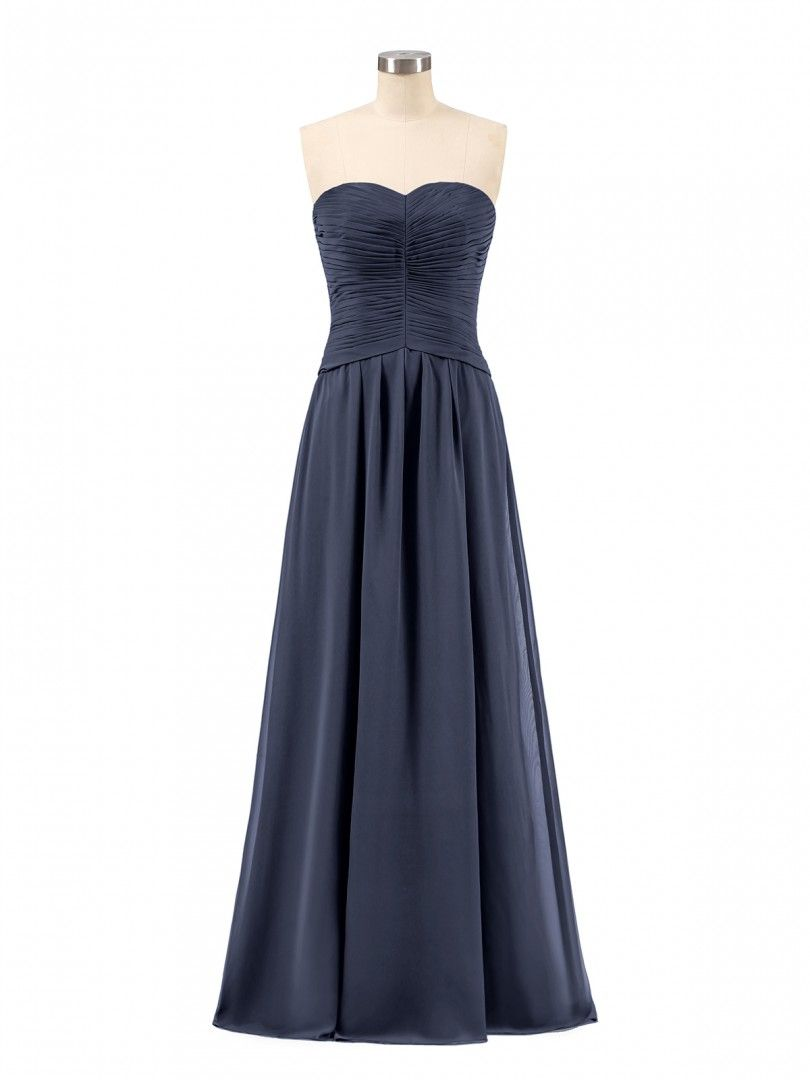 198550e2987 Babaroni Gabrielle Sweetheart Strapless Chiffon Bridesmaid Dress
