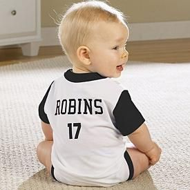 First Birthday jersey :)