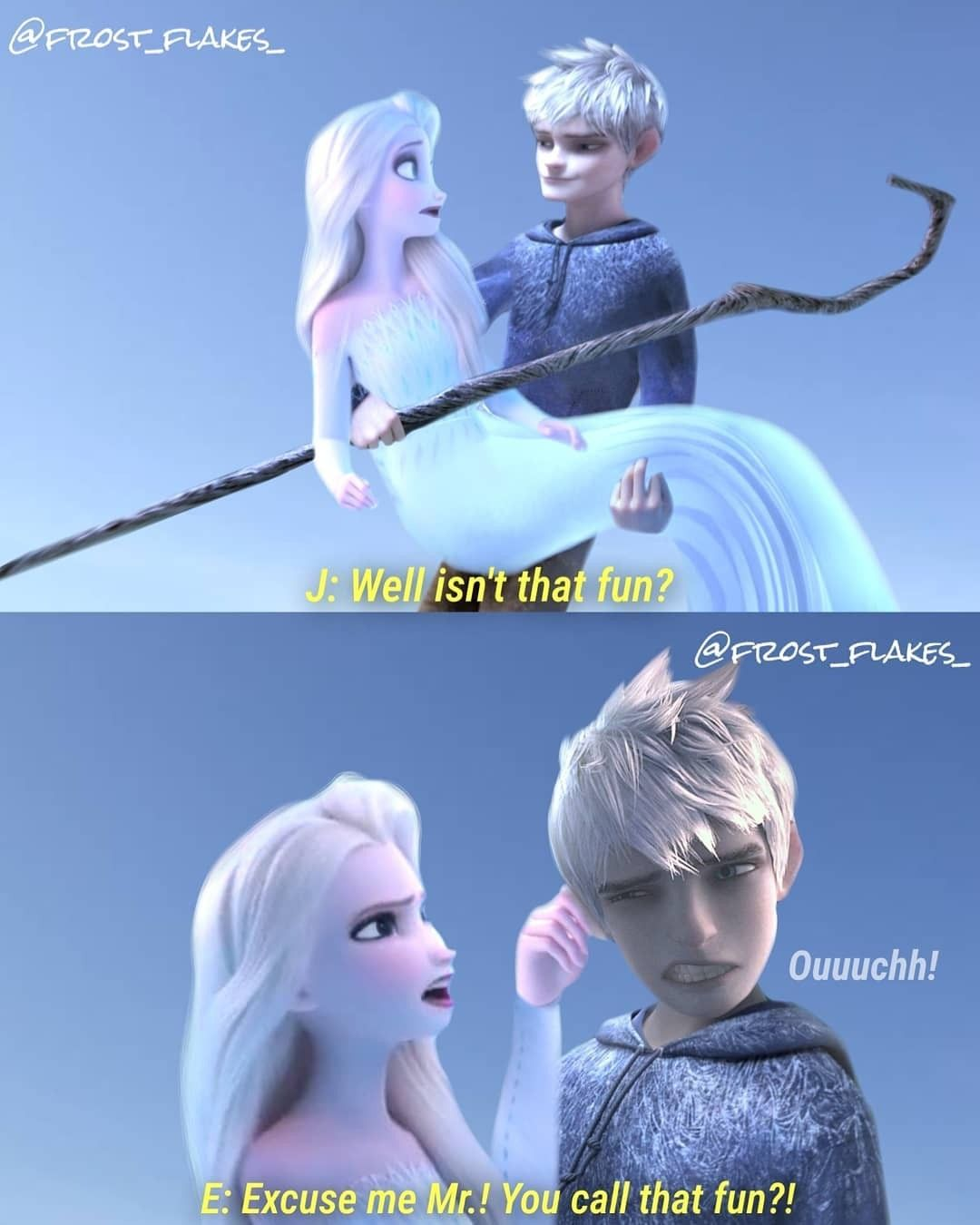 Pin By I Love My Myth On King Frost And Qureen Elsa Jelsa Jack And Elsa Disney Princess Frozen