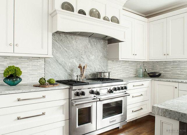 Kitchen Backsplash Kitchen Slab Backsplash Ideas Mix Of Slab