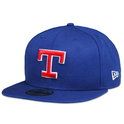 Texas Rangers New Era Cooperstown On-Field Fitted Hat - Royal