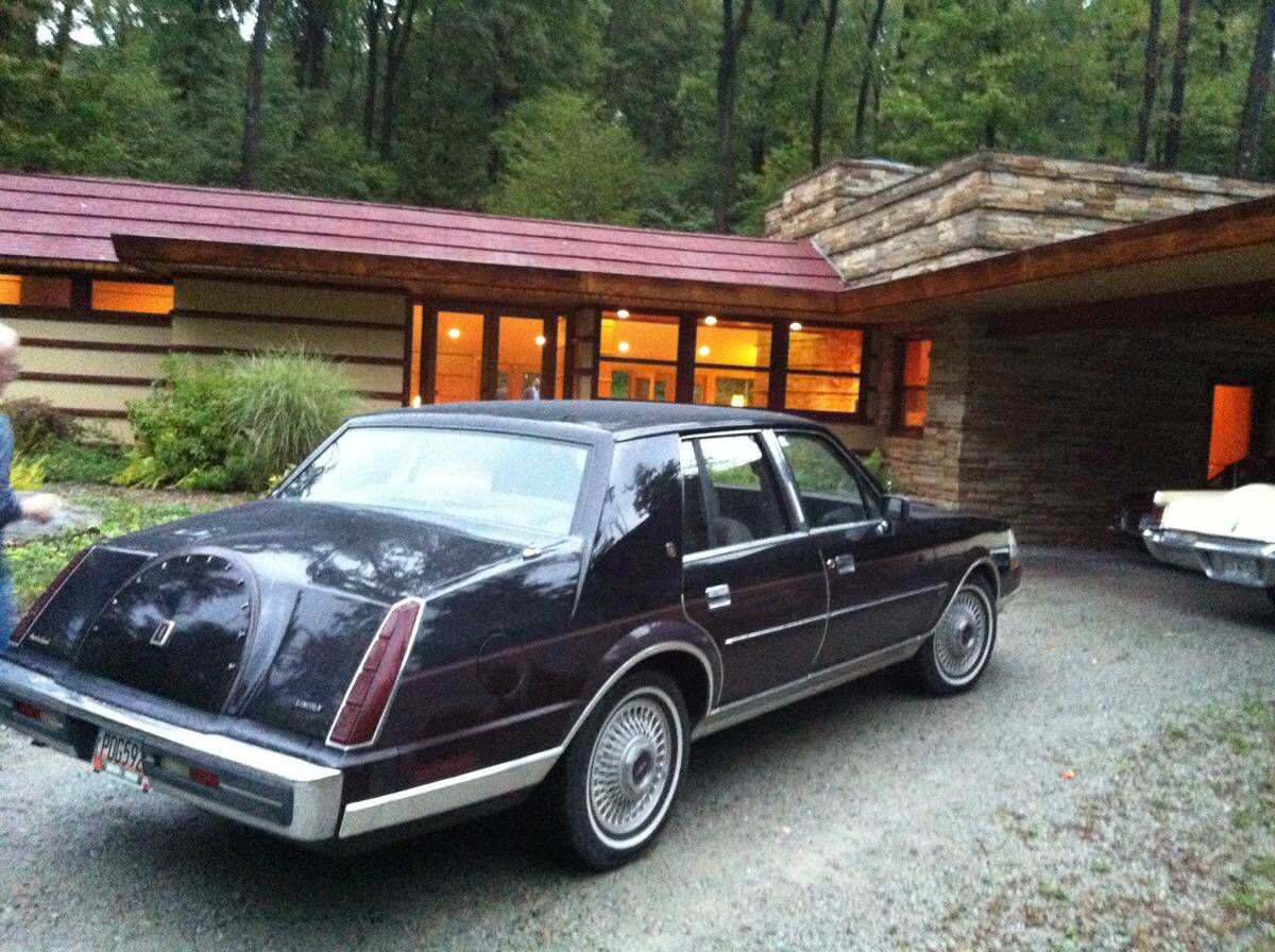 1986 Lincoln Continental Givenchy Edition Lincoln Cars Lincoln Continental Lincoln Motor
