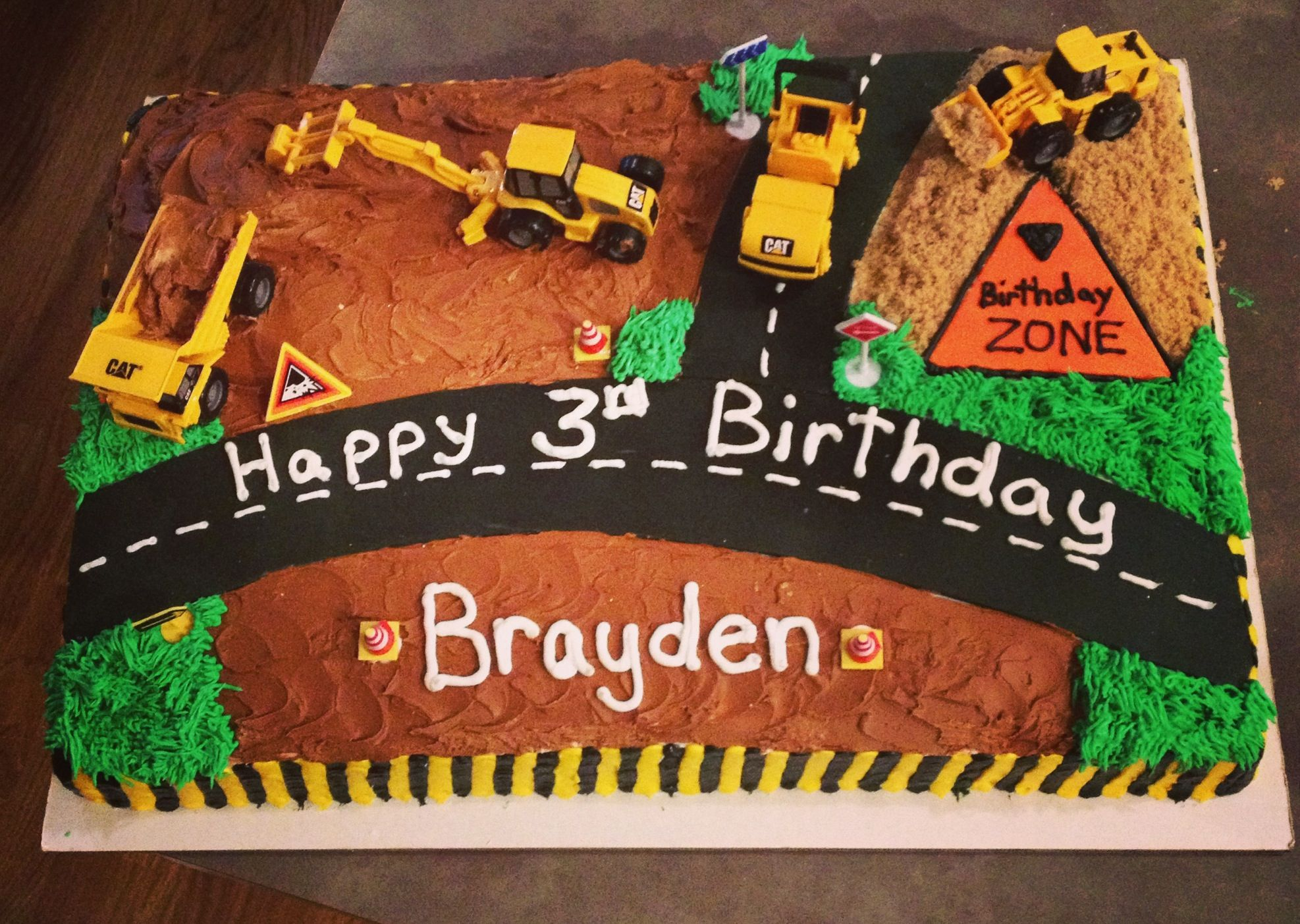 Construction Cake Cakes Cupcakes And Birthday