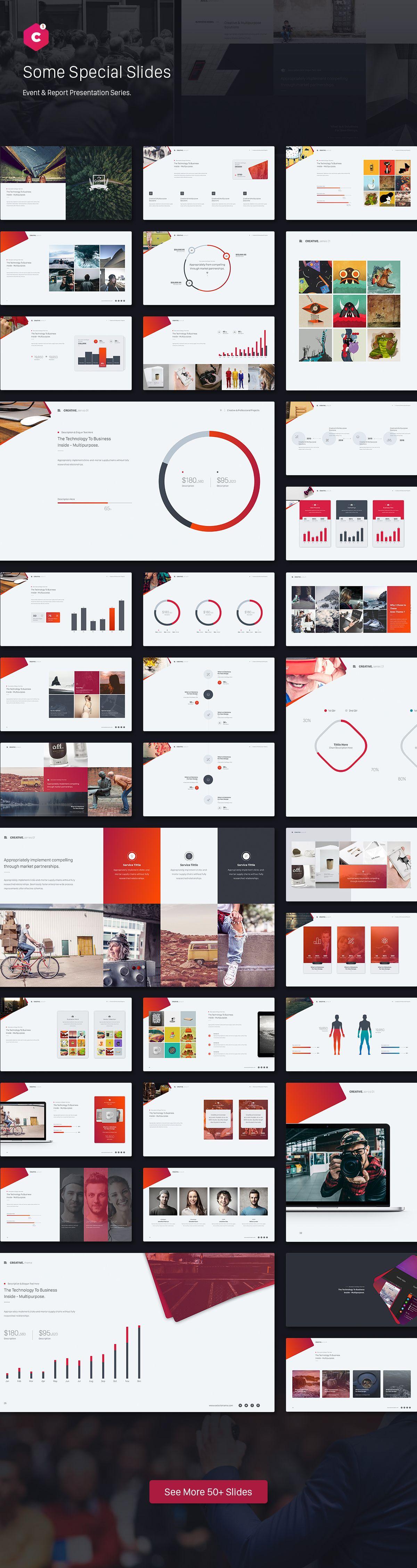 Creative Theme Event  Report Theme Series  Element Chart