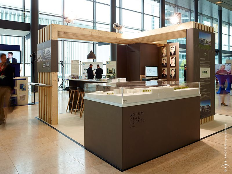 Exhibition Booth Concept : Booth concept design for fiabci elfy exhibition