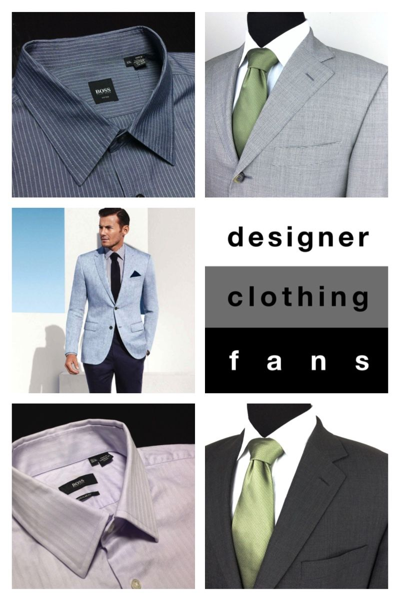 Summer sports coat and dress shirt