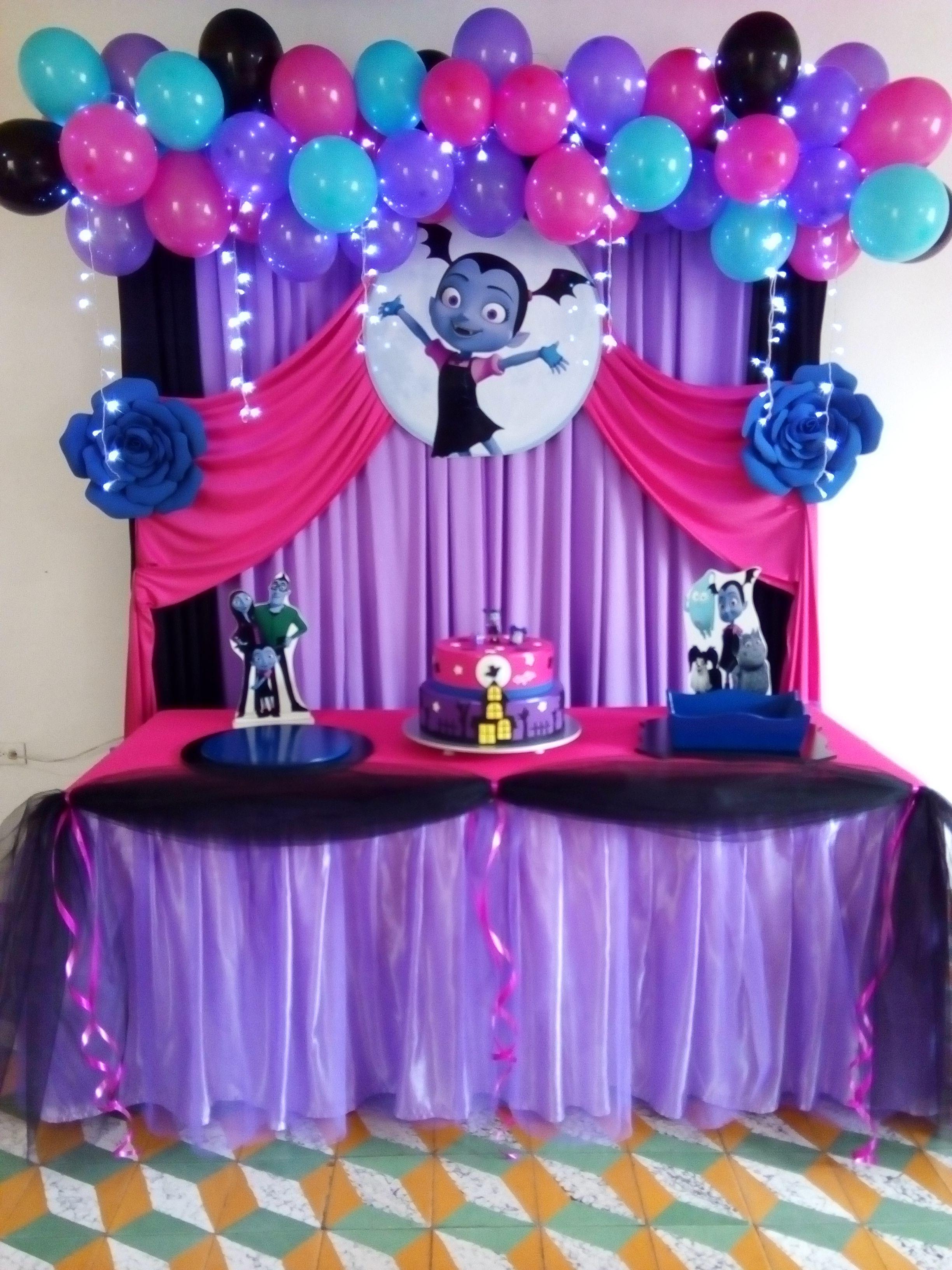 Decoración de Vampirina Halloween birthday, Birthday