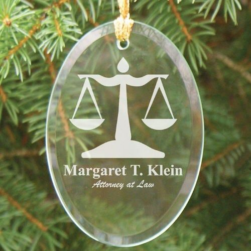 Engraved Lawyer Oval Glass #Christmas Tree Ornaments. Present your Attorney  or New Law Graduate with this attractive Engraved Lawyer Ornament Keepsake. - Engraved Lawyer Oval Glass #Christmas Tree Ornaments. Present Your