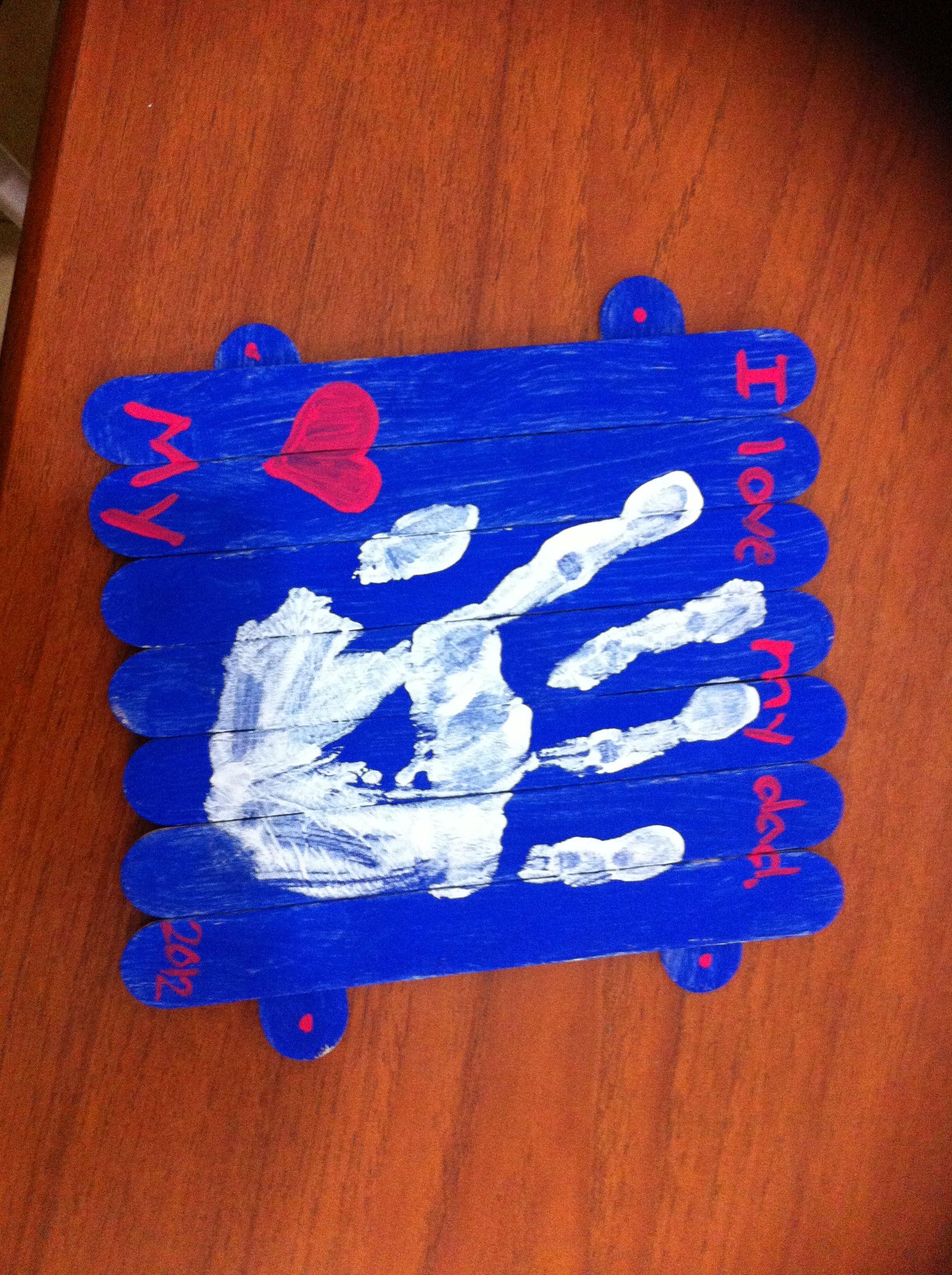 Thailand Kindergarten Father S Day Craft