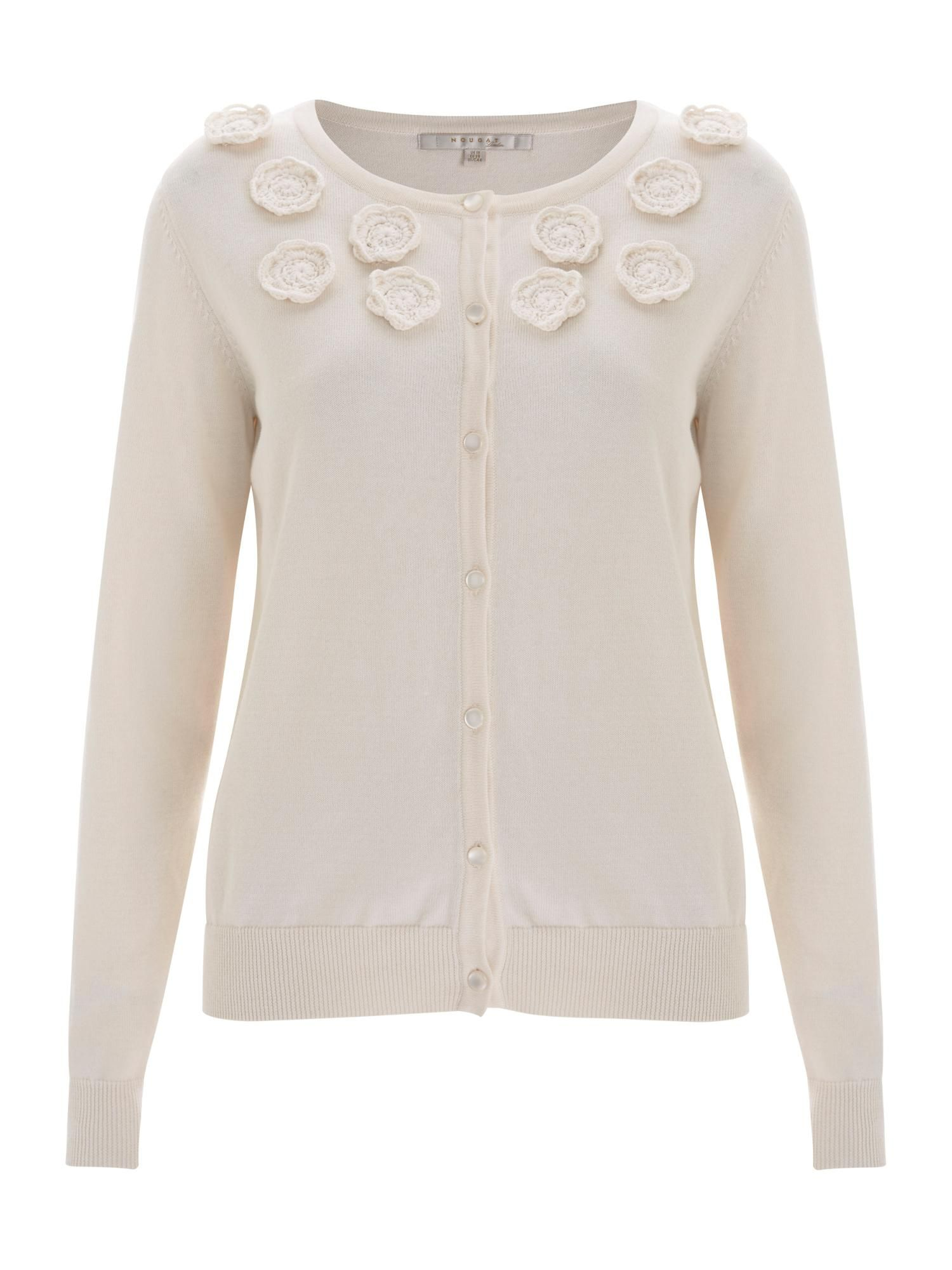 Nougat London Orchid Embroidered Cardigan | Cardigans online and ...