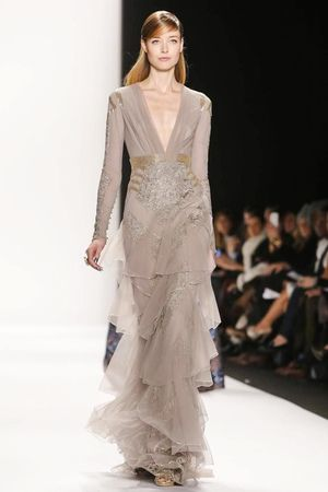 Badgley Mischka Ready To Wear Fall Winter 2014 New York - NOWFASHION