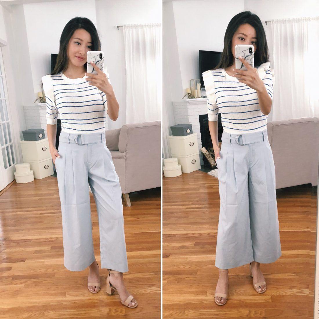 4bb58483fb1 Plaid sheath dress + petite culotte pant reviews