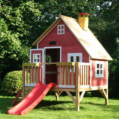 Plan cabane enfant fille module de jeux pour enfant dans le jardin pinterest plan cabane - Plan cabane de jardin ...