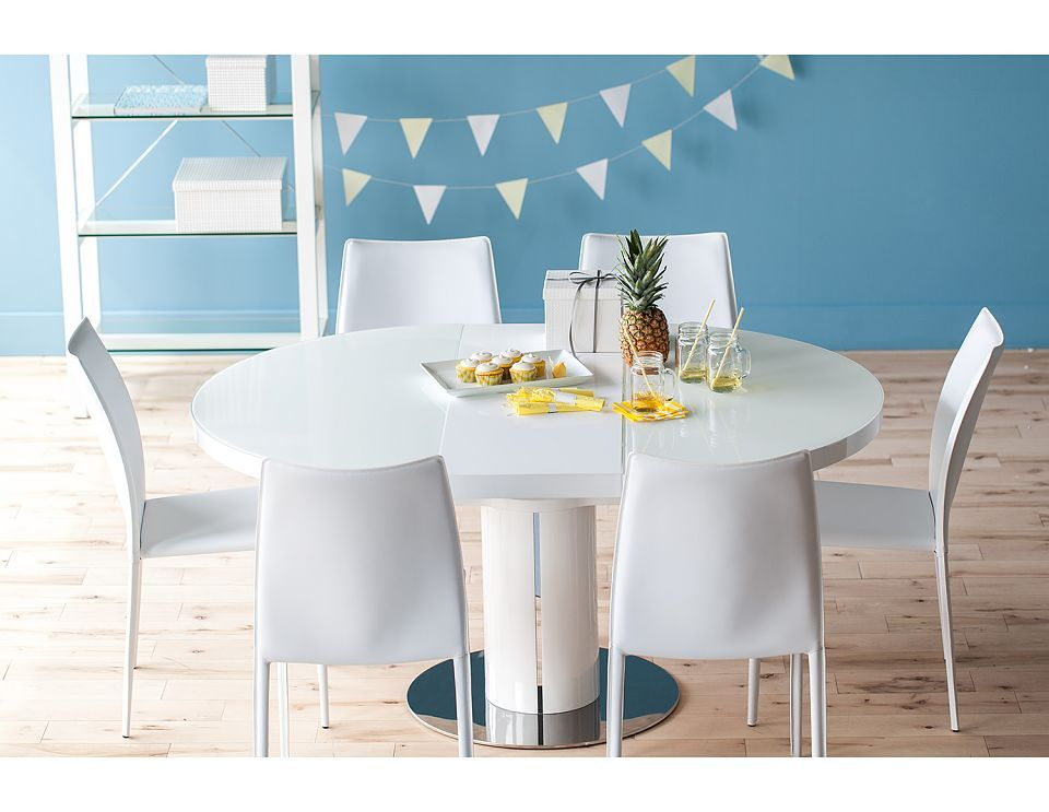 Structube   Dining Room : Tables : Moon (White). Extension Dining  TableDining Room TablesSmall SpacesChairModern ...