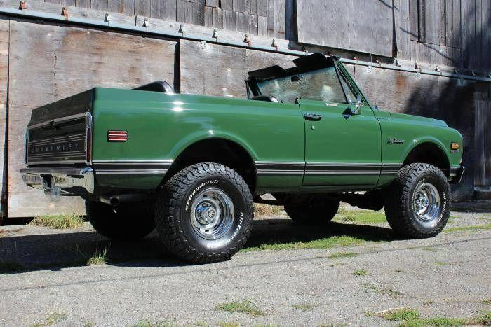 1972 Chevrolet Blazer Cst K 5 4 X 4 For Sale 1865252 Hemmings Motor News Chevrolet Blazer Chevrolet Classic Chevrolet