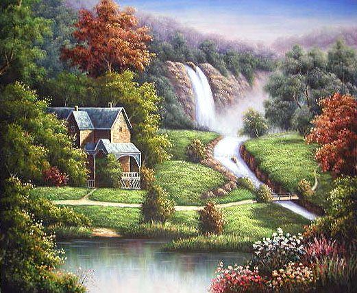 Amazing Landscape Paintings Google Search Oil Painting Landscape Landscape Paintings Landscape