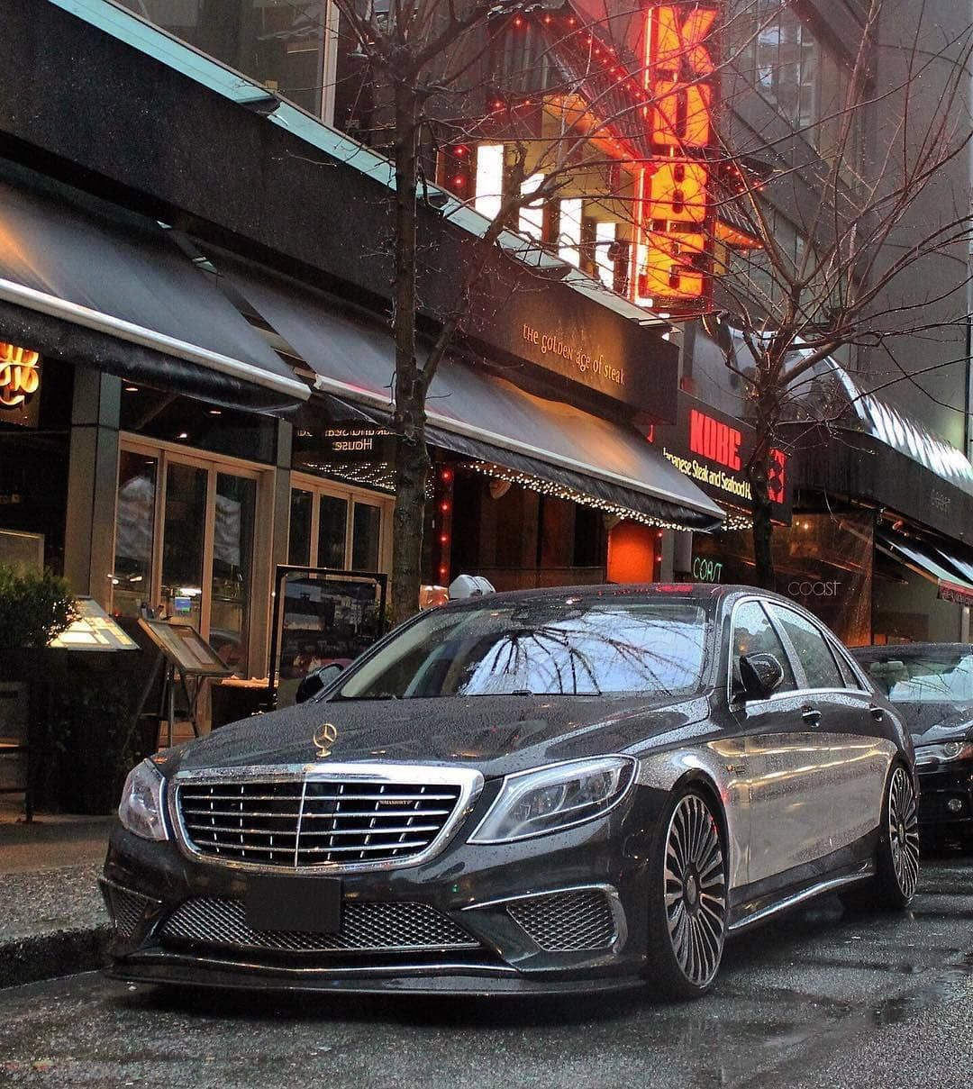 Mercedes Benz S63 Amg W222 Black Edition By Mansory Mercedes Car Mercedes Mercedes Benz Cars