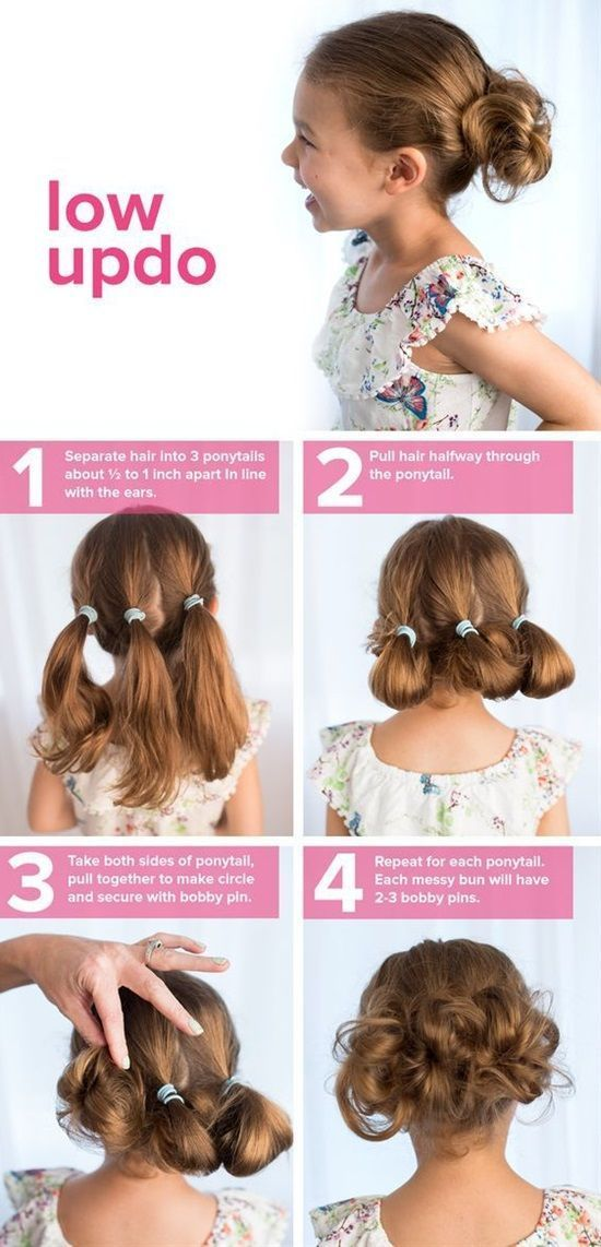 Die niedliche Low Updo #ribbonflower