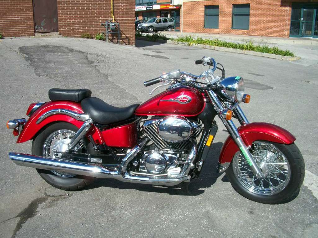 Good 2003 Honda Shadow ACE 750 Deluxe
