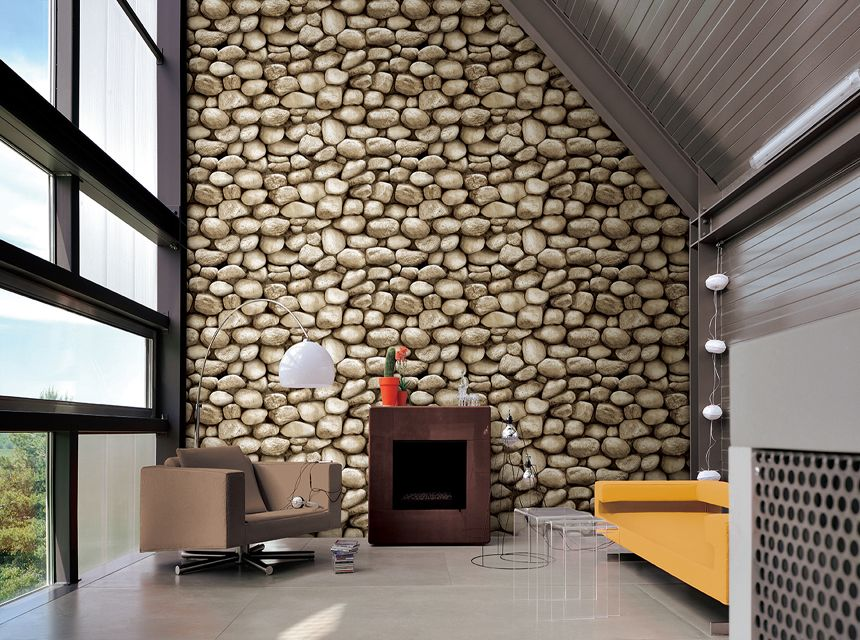 Stone Gallery Wallpaper house design, Cozy home
