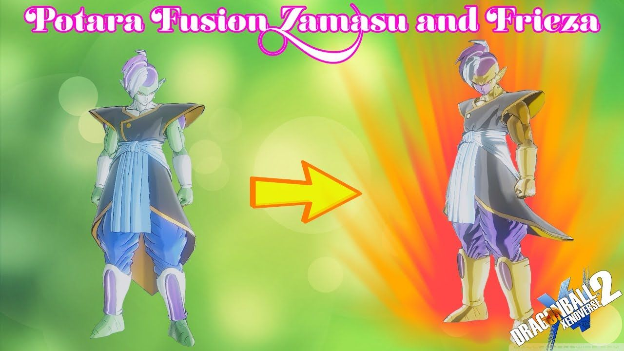 Best Fusion Zamasu And Golden Frieza Dragon Ball Xenoverse