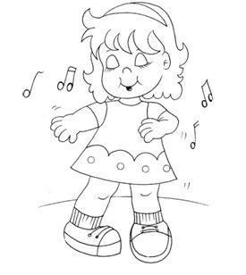 Pin De Milagros Pamo En Milita Niños Bailando Dibujos Para Niños
