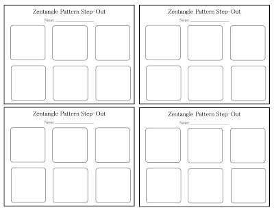 step out template for zentangle patterns zentangle art ideas pinterest template patterns. Black Bedroom Furniture Sets. Home Design Ideas