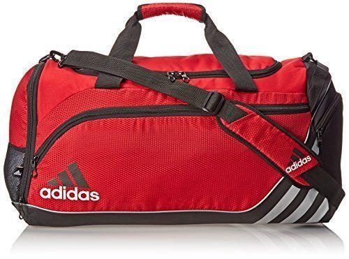 Adidas Team Speed Medium Duffel Bag University Red Black Free ... d0e1e3f2eeaed