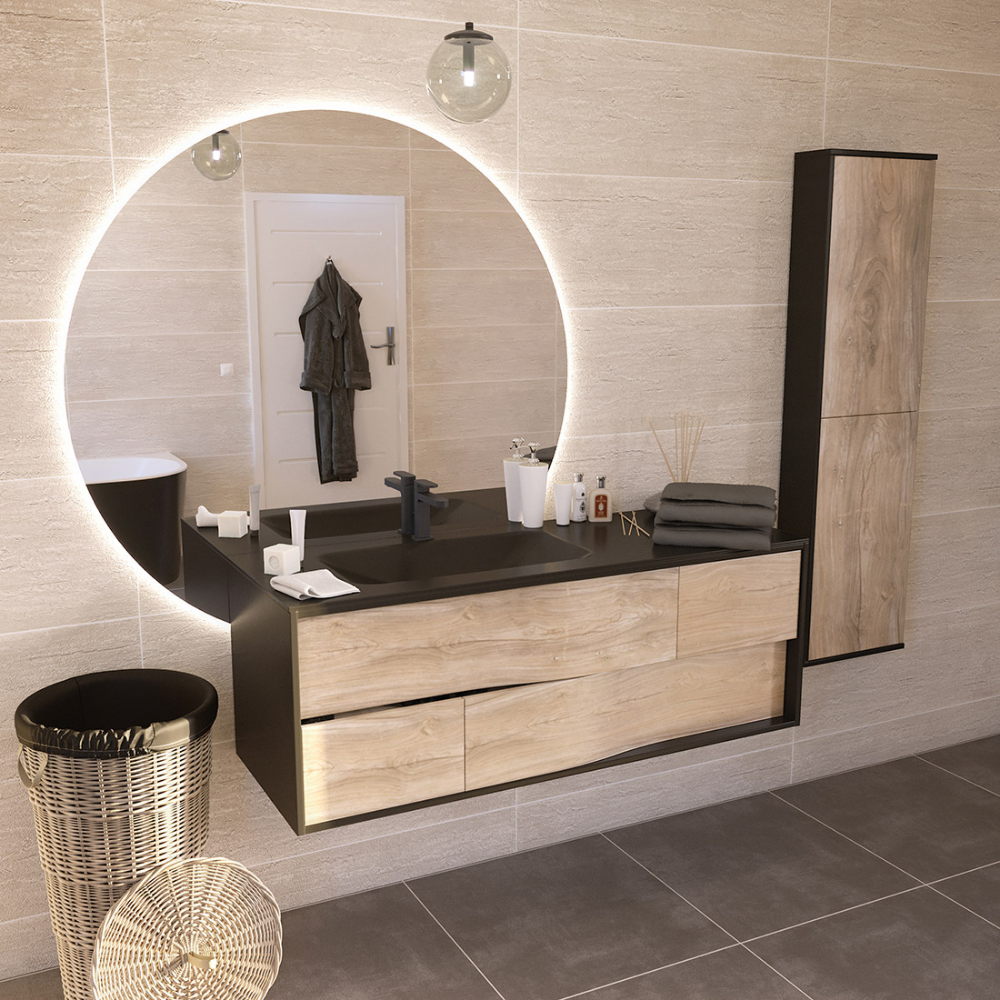 Miroir Et Eclairage Salle De Bain