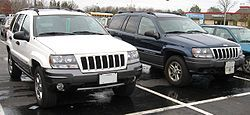 Jeep Grand Cherokee Wj Wikipedia With Images Jeep Grand