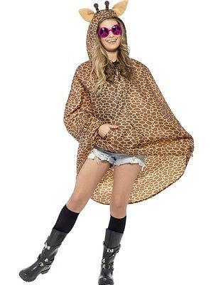 Giraffe #poncho costume #ladies zoo #animal fancy dress hen night ...