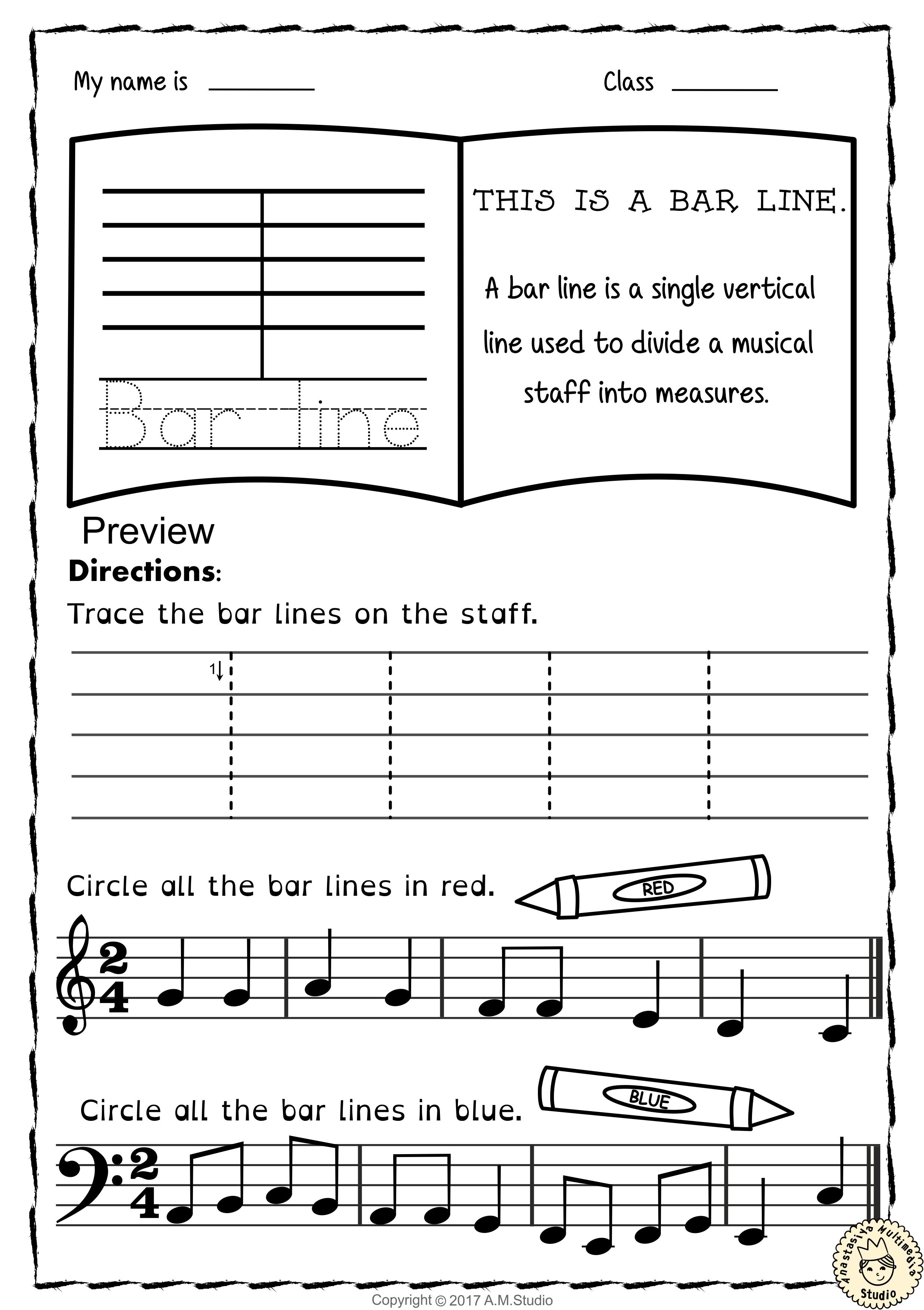 Let`s Learn the Music Symbols {No Prep Printables Bundle} | Pinterest