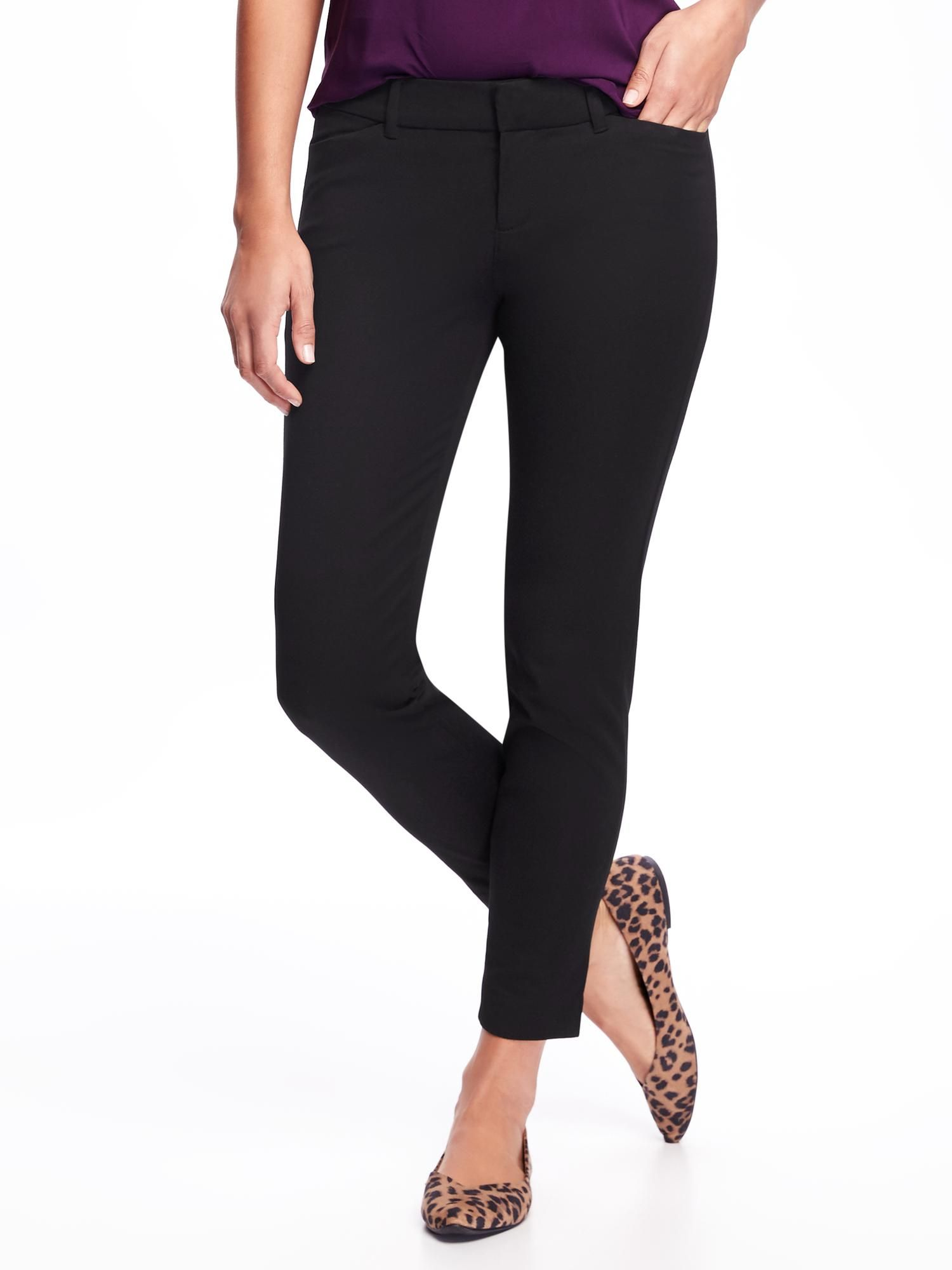 5671dc1dee864 Pixie Mid-Rise Ankle Pants for Women in Black   can ALWAYS use a pair of  these ankle versions in size 4tall in black. Only  29!!