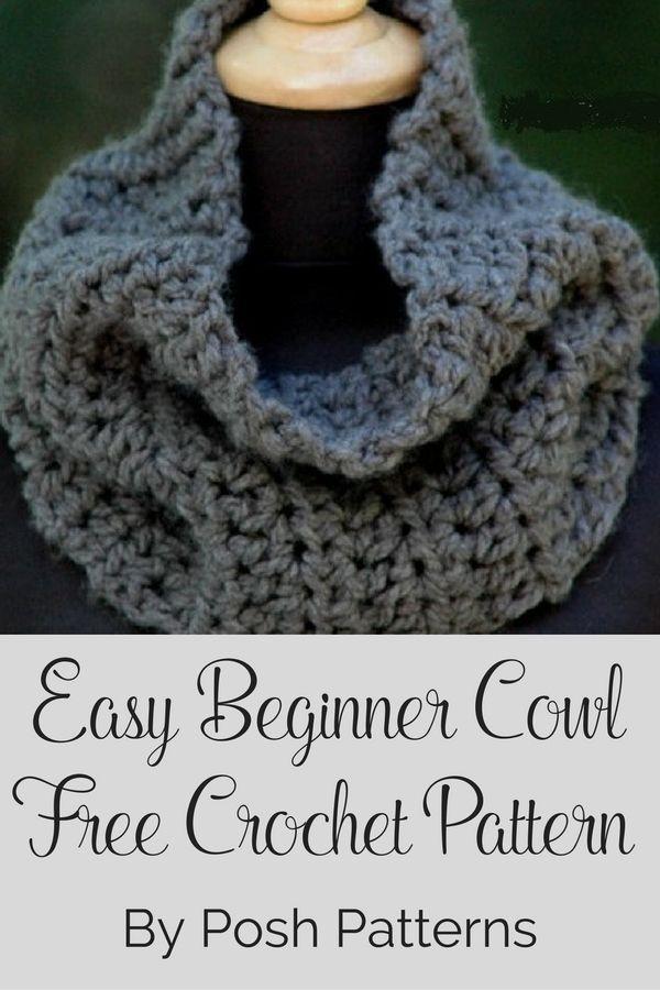 Free Crochet Cowl Pattern Easy Crochet Free Crochet And Crochet