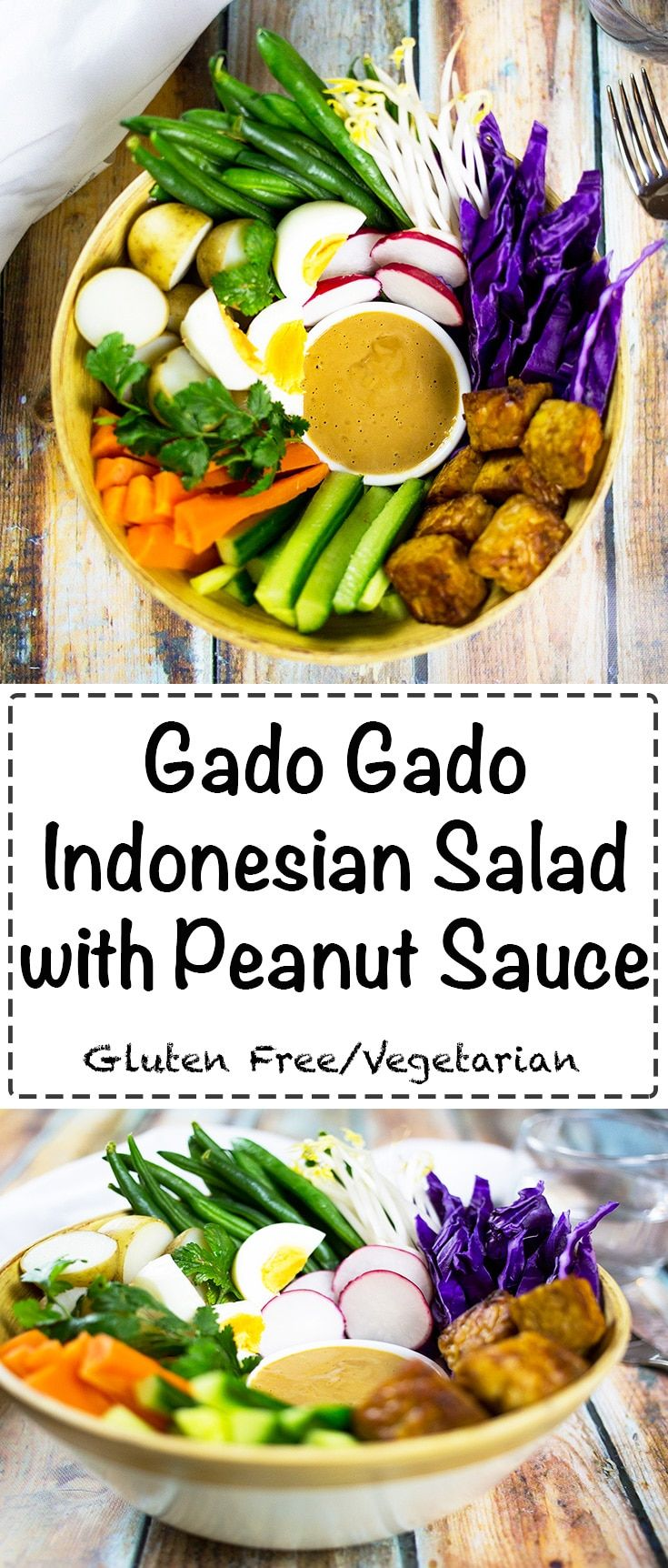 Gado gado indonesian salad with peanut sauce a healthy and tasty recipes gado gado indonesian salad with peanut sauce a healthy and tasty vegetarian salad real food forumfinder Gallery