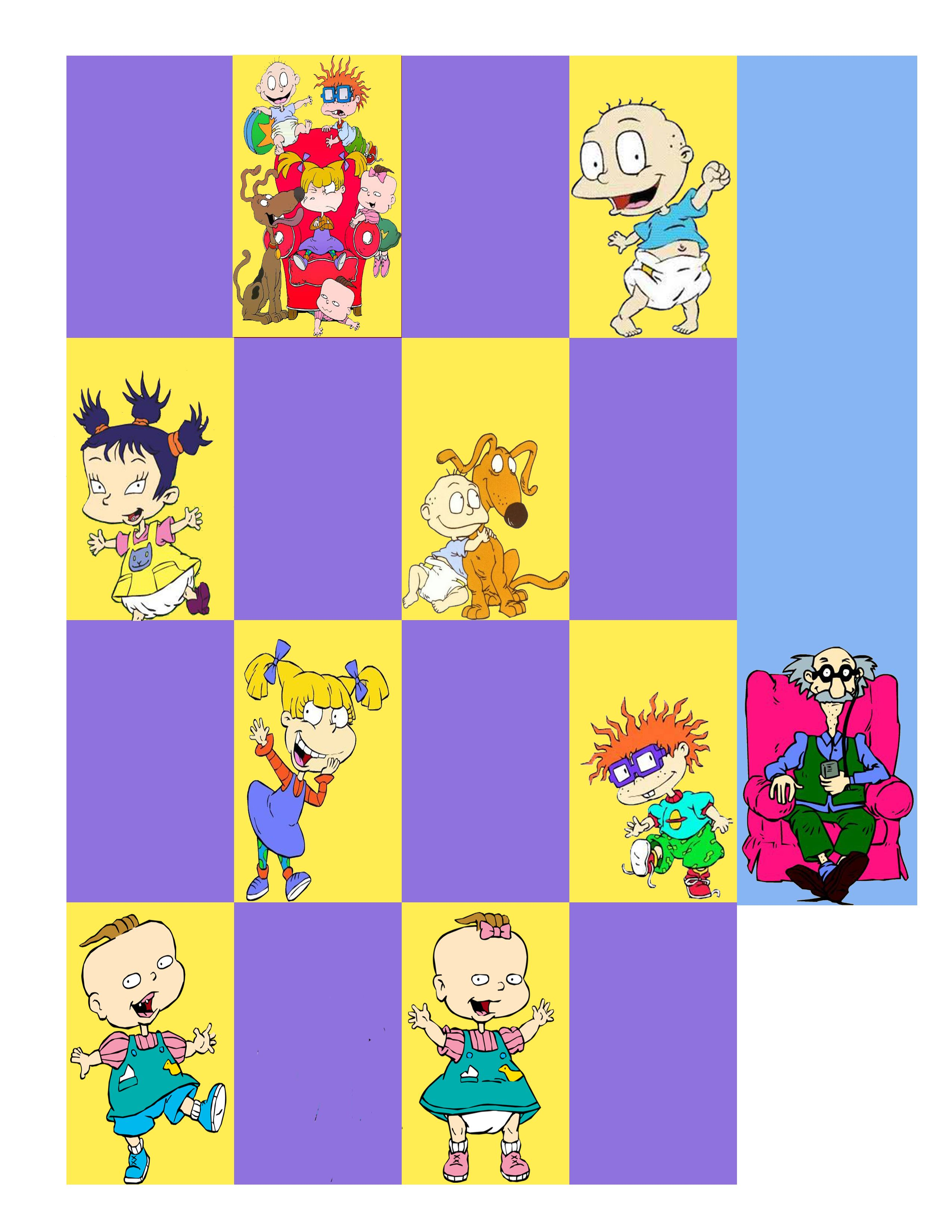10 Facts About Rugrats Free Planner Printable
