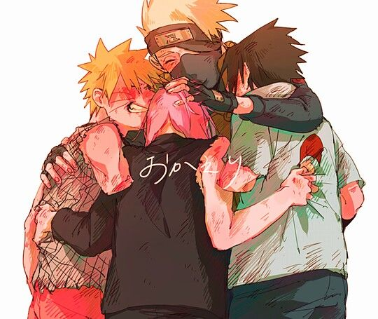 Everytime I think about Team 7. As much shit as I give to this show, it really made me into a better person. It was like therapy.