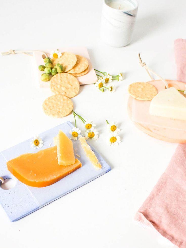 Diy mini colorful cheese boards colorful cheese board