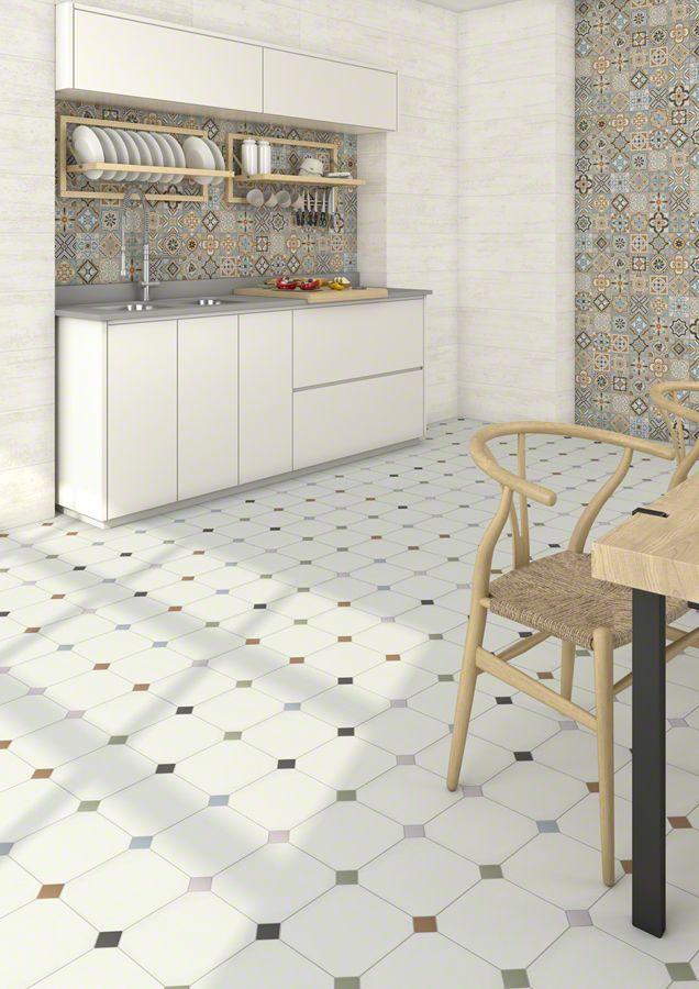 Ambiente porcelánico VODEVIL 20X20 Vives Azulejos y Gres Ideas