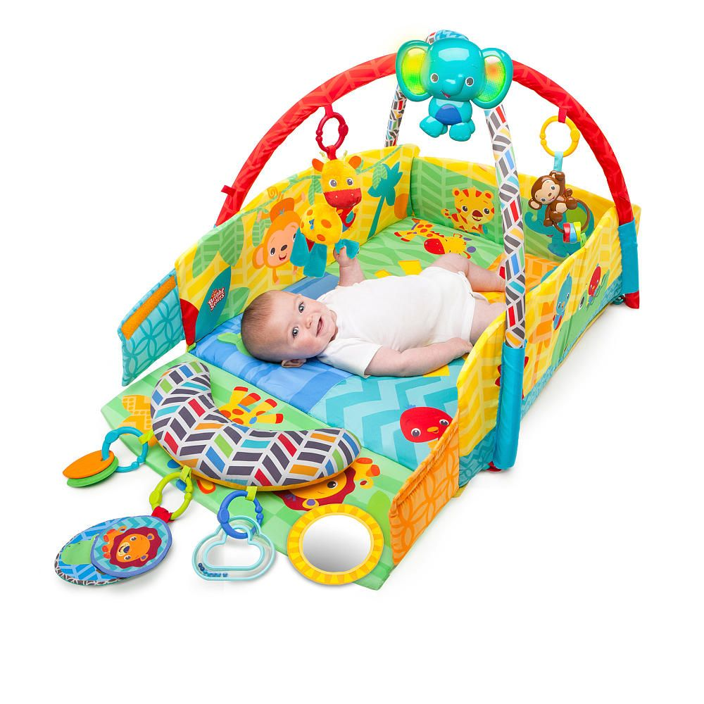 Bright Starts Baby S Play Place Playmat Bright Starts Toys R