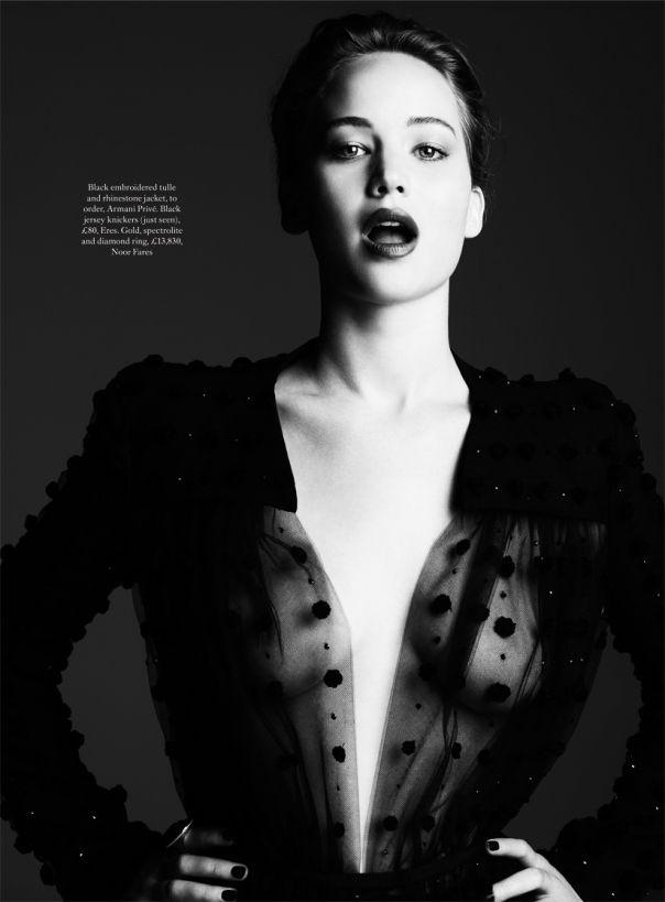 Jennifer Lawrence by Ben Hassett for Harper's Bazaar UK November